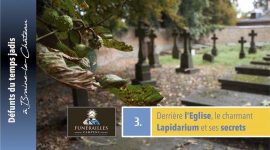 Lapidarium : le cimetière caché de l'Eglise Saint-Rémy !