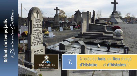 Le cimetière castelbrainois, ultime étape de notre dossier !