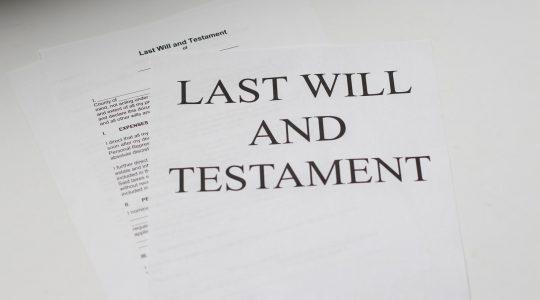Pourquoi rédiger un testament?