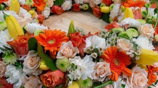 Quelles fleurs offrir pour un enterrement?